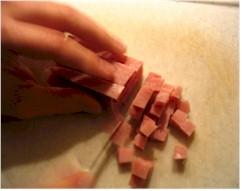 Ham snijden