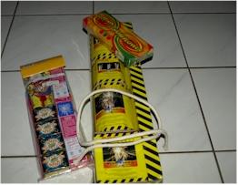 Vuurwerkpakket, hoe veilig vuurwerk afsteken