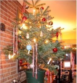 Kerstdecoratie een sfeervol gedekte tafel decoratie in huis - Tuin decoratie buitenkant ...
