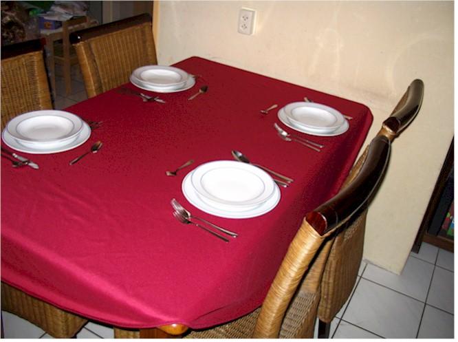 Kerst Tafel Decoratie : Kerstdecoratie een sfeervol gedekte tafel decoratie in huis